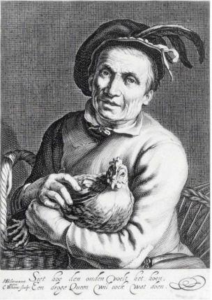 Cornelis Bloemaert Hennetaster Rikjsmuseum