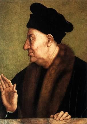 Quentin Massys 1513 ca Portrait d'un vieillard Collection privee