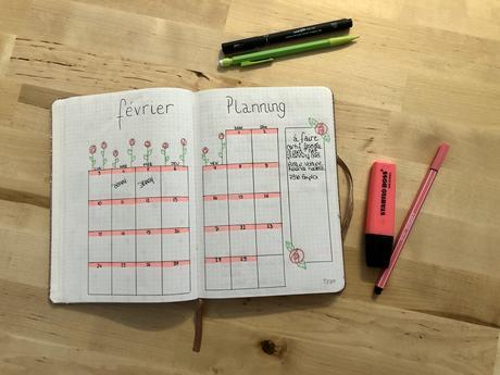 Organisation : Mon bullet journal pour débutant