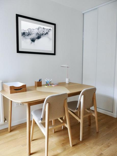 home office idylle pièce bureau appartement rueil - blog déco - clem around the corner