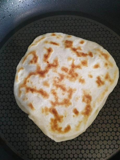 Naans au fromage thermomix