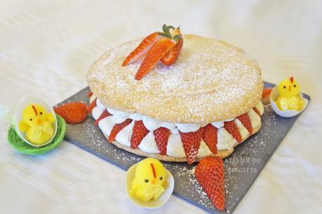 Succès aux fraises, recette de Vincent Guerlais