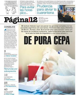 Contribution argentine à la lutte contre le covid-19 [Actu]