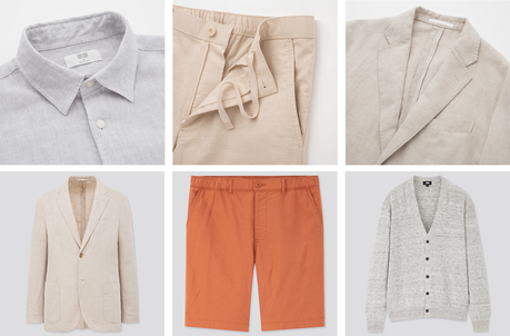Différents types de vêtements en lin pour homme