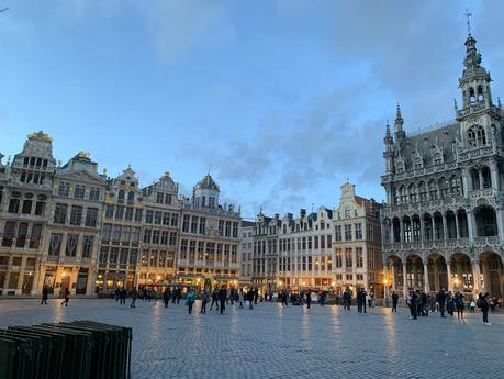 Un voyage déco avec Sammode et l'hôtel La grande Cloche à Bruxelles