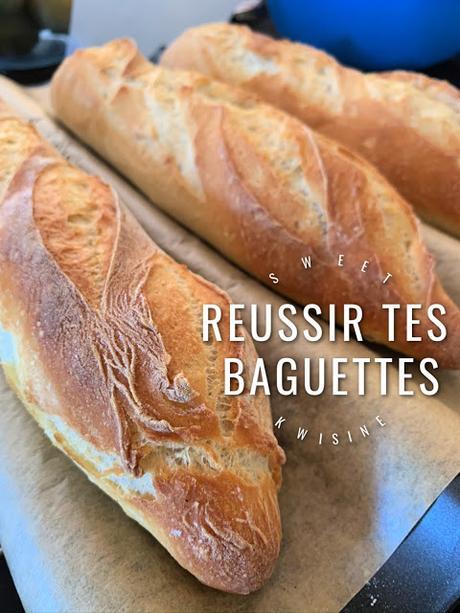 sweet kwisine, baguette, pain, fait maison,