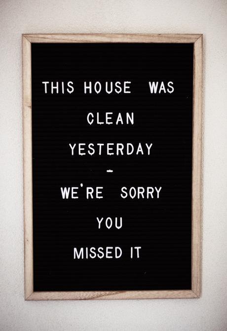mot rangement humour citation ménage maison de famille