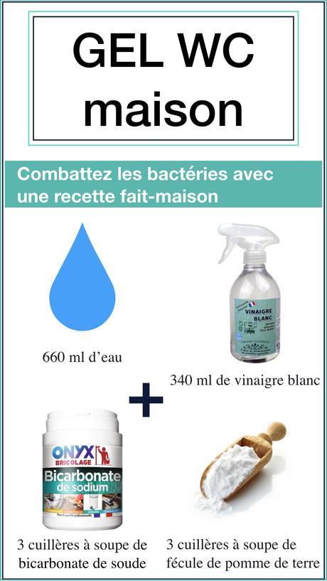 grand nettoyage de printemps recette gel wc écologique vinaigre blanc