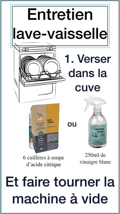 astuce grand ménage de printemps cuisine lave-vaisselle entretien naturel écolo - blog déco - clem around the corner