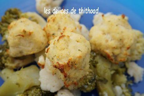 bouchées de poisson à la coco