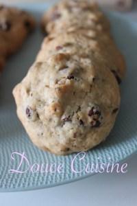 Cookies chocolat amandes ou chocolat noisettes