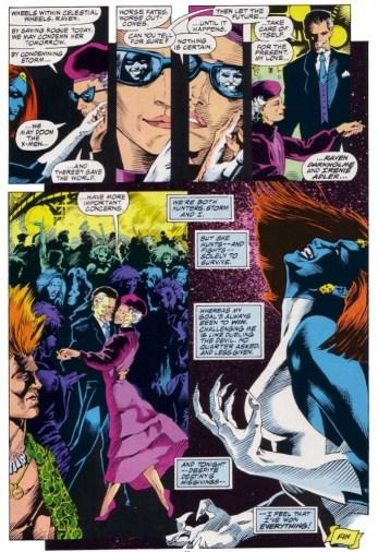 "From Marvel Fanfare #40, ""Deal with the Devil!"" (1988). Script by Chris Claremont, pencils by Craig Hamilton, inks by Rick Bryant, colors by Petra Scotese, letters by Jim Novak."