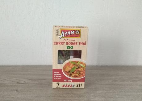 Kit pour curry rouge (AYAM)