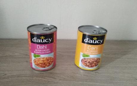 Cari de lentilles et pois chiches Dahl de pois chiches & lentilles corail (D'AUCY)