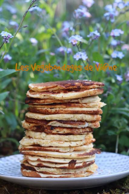 Pancakes pina colada