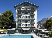 Chamonix, Hôtel Mont-Blanc étoiles face glacier Bossons