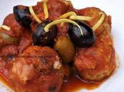 Boulettes viande polpettes tomate comme Italie