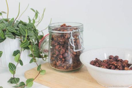 Ma recette de Granola facile, rapide et personnalisable