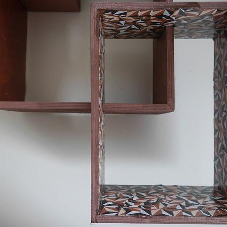 Customiser des étagères en bois avec du décopatch   Kustom Couture