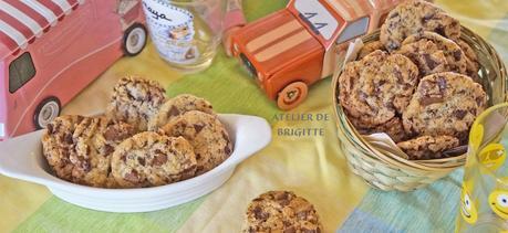 Cookies aux 2 chocolats, recette de Cyril Lignac