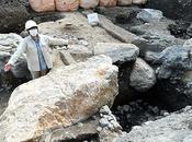 pierres massives site résidence d'un Shogun font allusion pouvoir important
