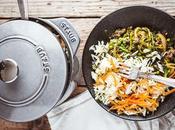 Cocotte Gohan boeuf haché avec légumes épices thaï