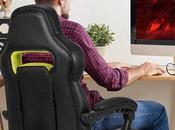 avantages d'une chaise ergonomique gaming