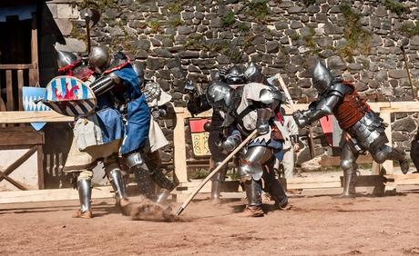 Le béhourd, un sport de combat sorti tout droit du Moyen Âge