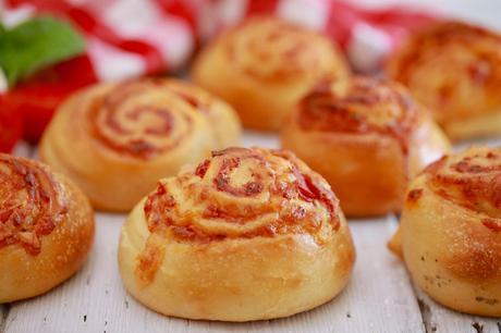 Pepperoni Pizza Rolls - Gemma's Bigger Bolder Baking