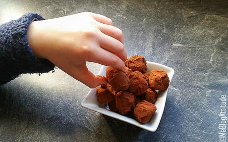 Truffes au chocolat {Cuisiner à 4 mains} – Ma Blog Attitude
