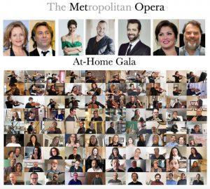 Le Gala à la maison (At Home) du Metropolitan Opera de New York, les résultats du premier Concours de chant d'opéra virtuel SOI et le concours DO MI SI LA DO RÉ (Domicile adoré) par la Fondation des Jeunesses musicales