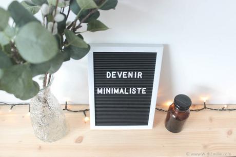 5 conseils pour devenir minimaliste