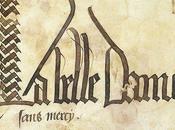 Belle dame sans merci œuvre d'Alain Chartier (1424)