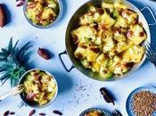 Zananas cocome confit Ananas pickles sel, piment tamarin