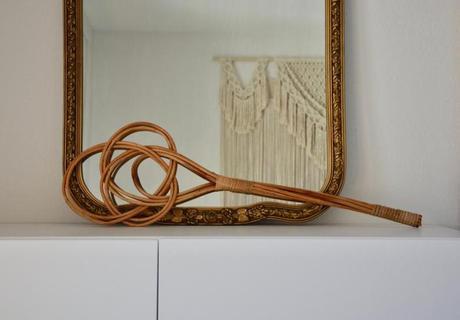 Les batteurs de tapis, objet antique devenu moderne