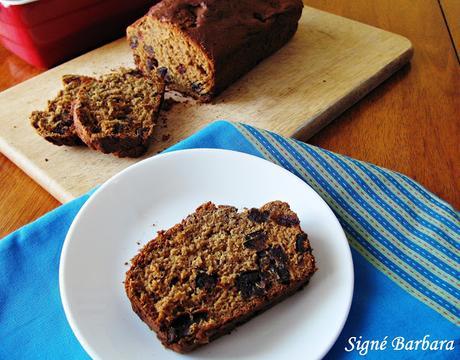 Pain sans gluten aux dattes et au gingembre/Gluten free date and ginger bread