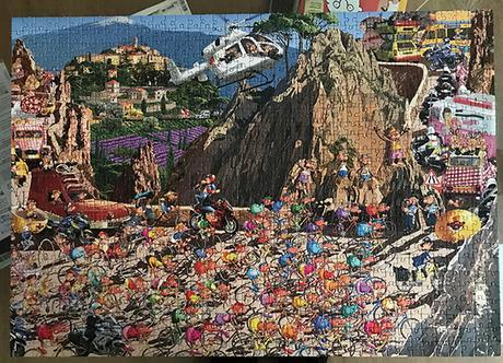 Piatnik Puzzle Tour de France