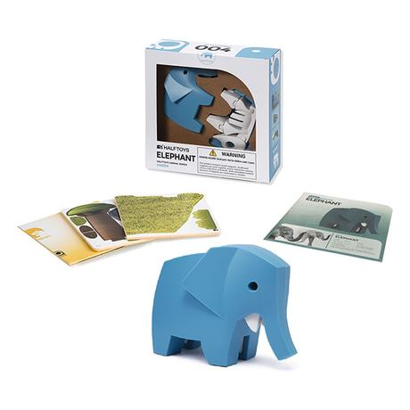 Half Toys Elephant Puzzle