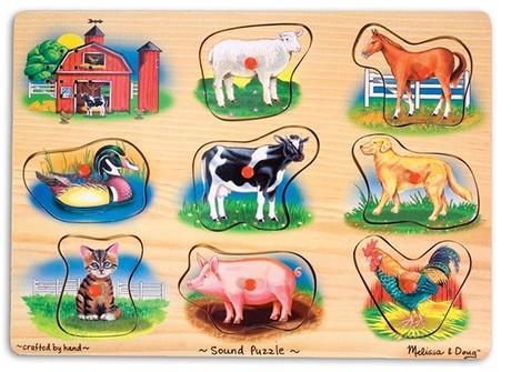Puzzle Animale Sonore