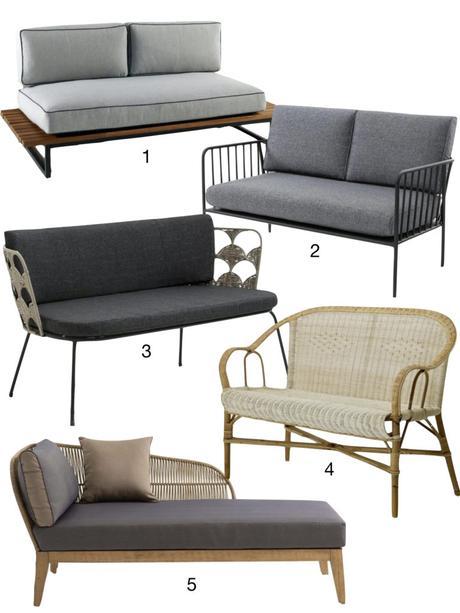 shopping liste canapé divan la redoute intérieure - blog déco - clemaroundthecorner
