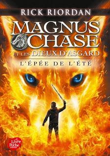 Magnus Chase et les Dieux d'Asgard, tome 1 : L'Epée de l'été de Rick Riordan