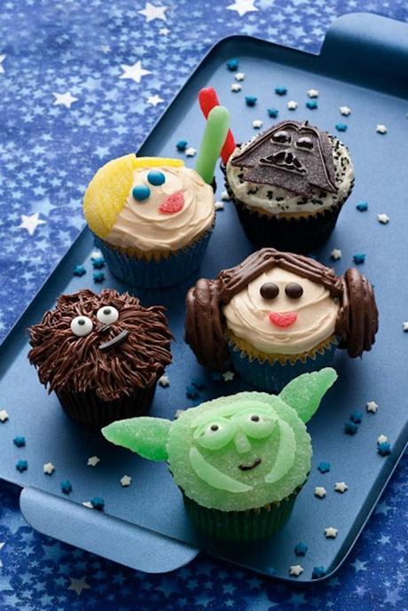petits gâteaux cup cakes décoration créative personnages