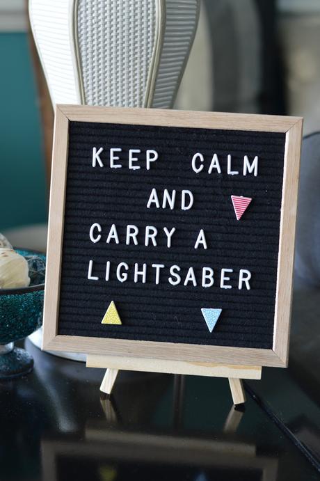 anniversaire thème star wars idée décoration minimaliste - blog déco - clem around the corner