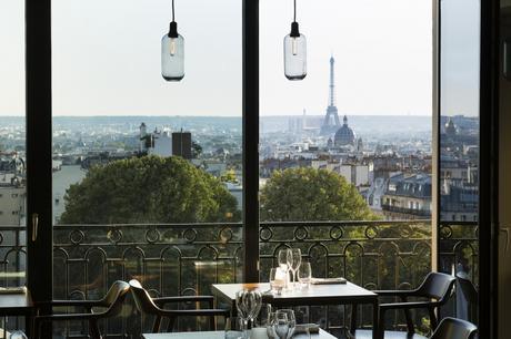 Déjeuner au Terrass' restaurant, Paris 18ème