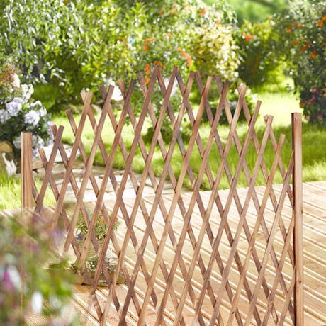 treillis paravent naturel tendance pour terrasse balcon - blog déco - clemaroundthecorner