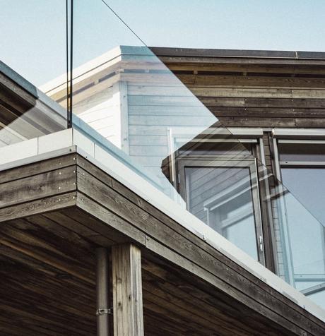 séparation transparente verre balcon bois - blog déco - clemaroundthecorner
