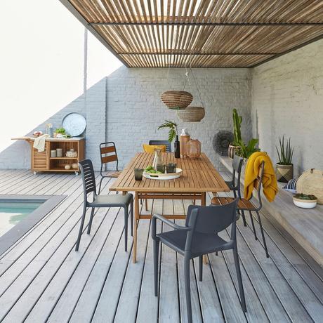 comment protéger sa terrasse du vent bois pluie entretien pergola - blog déco - clem around the corner