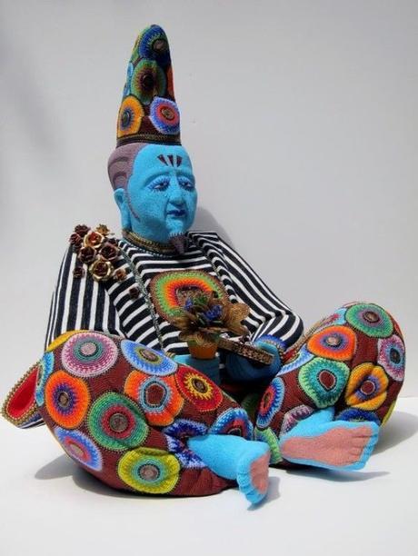 Jan Huling une artiste qui couvre le monde de perle