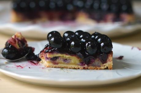 tarte myrtilles sans gluten