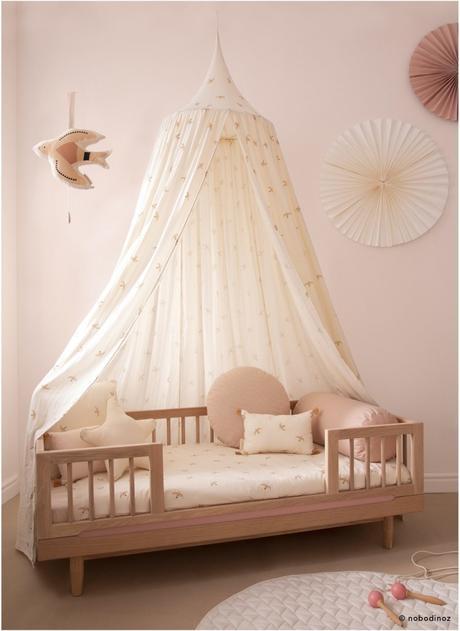 déco oiseau mobile cadeau chambre bébé fille rose - blog décoration - clem around the corner